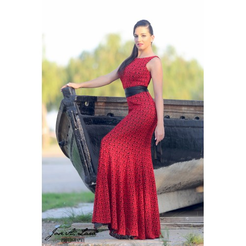 Vestido Fiesta Largo Mod: VE-8082