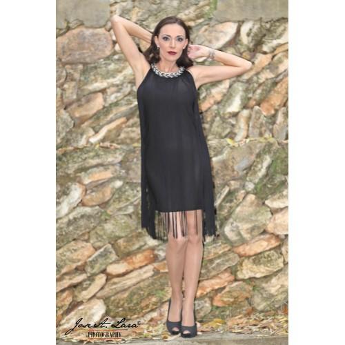 Vestido Fiesta Corto Mod: 9883