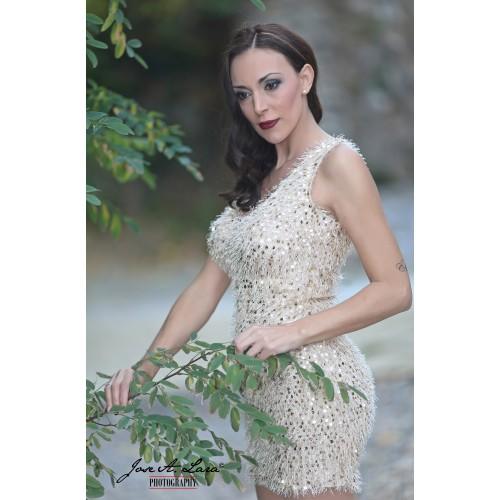 Vestido Fiesta Corto Mod: 11051