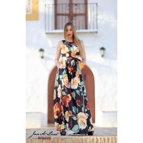 Vestido Fiesta Largo Mod: 9728