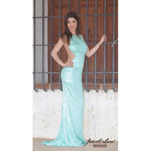 Vestido Fiesta Largo Mod: E2930