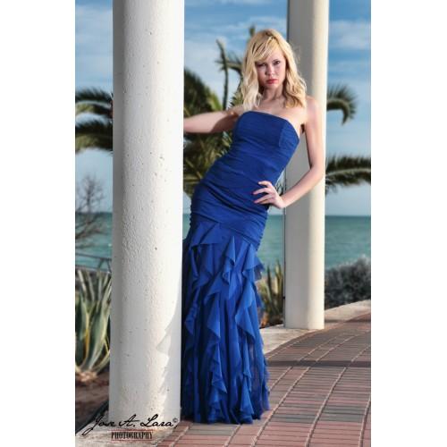 Vestido Largo Mod. 30873-A
