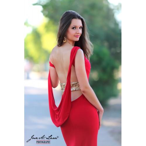 Vestido Fiesta Largo Mod: E2611