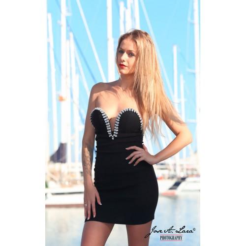 Vestido Fiesta Corto Mod: LIA5N466