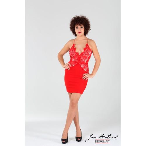 Vestido Fiesta Corto Mod: LIS5417