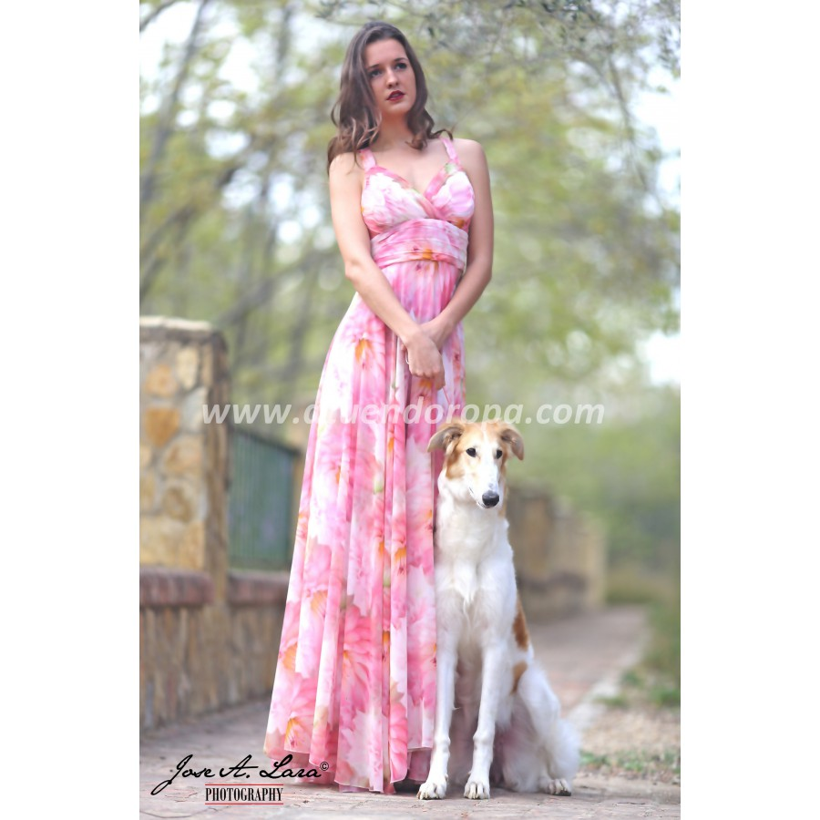 Vestido Fiesta Largo Mod: 30777-E/26