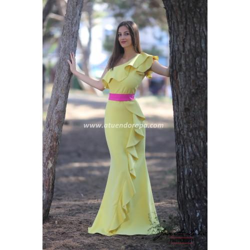Vestido Fiesta Largo Mod: NB6828