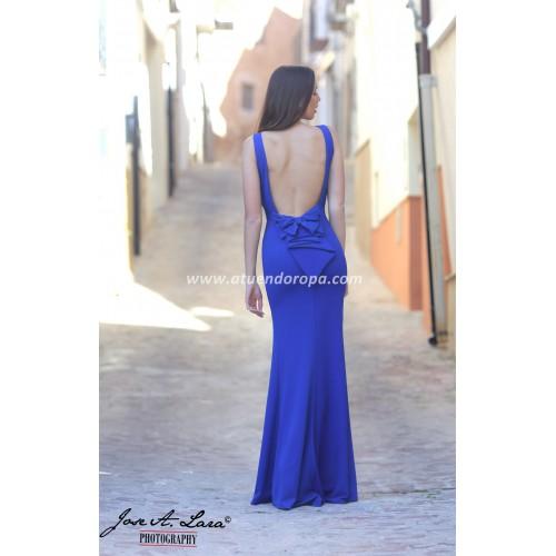 Vestido Fiesta Largo Mod: E2737-A